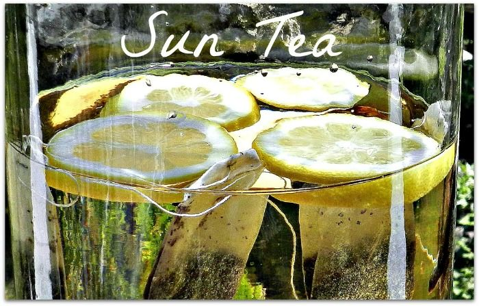 Sun Tea Recipe (been doing this for years) #tea #summer