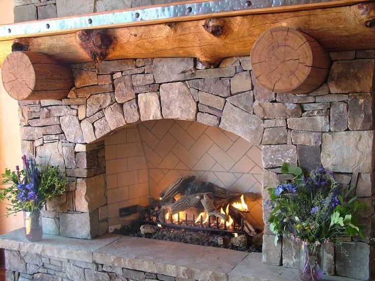 indoor fireplace rocks fireplace design and ideas regarding 10 Brilliant Fireplace Rocks for Living Room