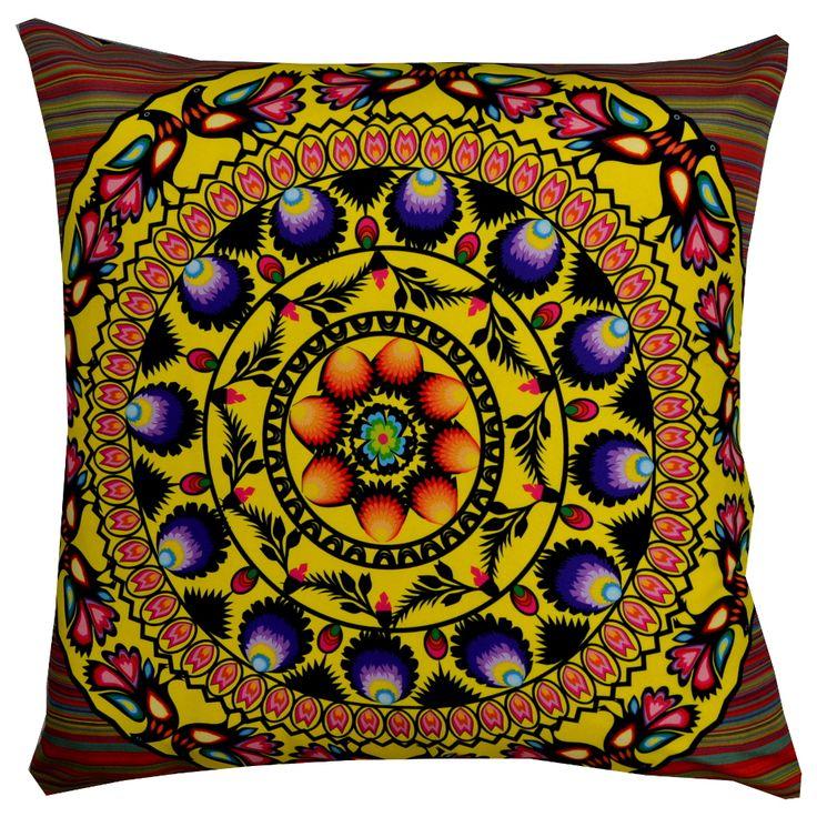 Designer decorative Folk pillow № gd407