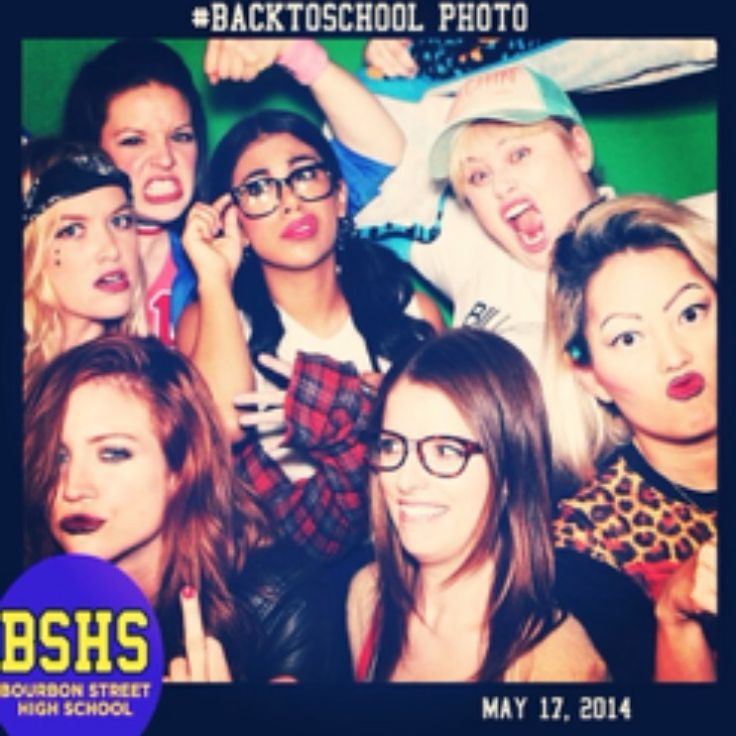 Pitch Perfect 2 cast- BSHS Back to School Party