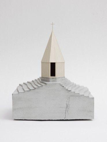Bernardo Bader Architects . Kapelle Salgenreute, 2014