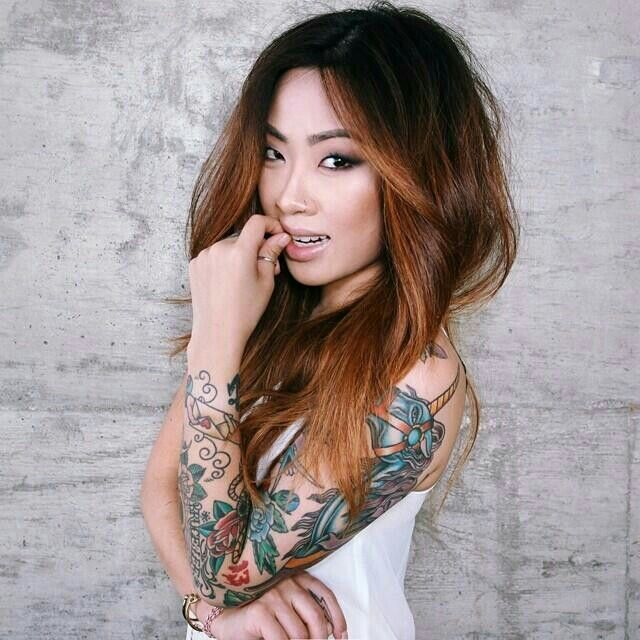 Claire Marshall // Tattoo, style and make up inspiration ♥