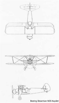 Drawing of a Stearman Airplane - Google Search