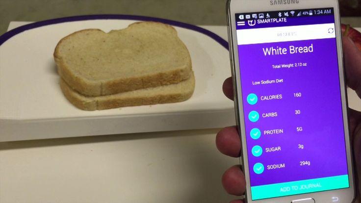 SmartPlate : l'assiette connectée qui vous dit ce que vous mangez !