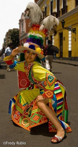 BOLIVIA -Tinkus, a dance from the mining areas.