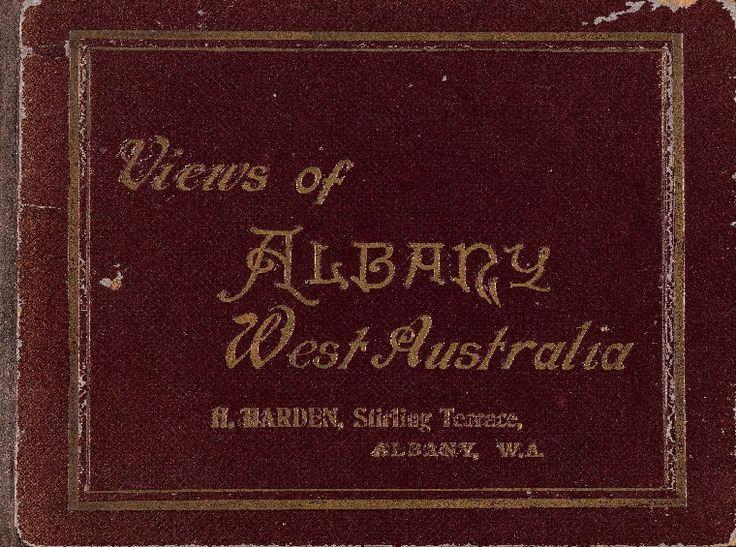 Views of Albany, Western Australia, 1920s. http://encore.slwa.wa.gov.au/iii/encore/record/C__Rb1027785__SViews%20of%20Albany%2C%20Western%20Australia__P0%2C1__Orightresult__U__X6?lang=eng&suite=def