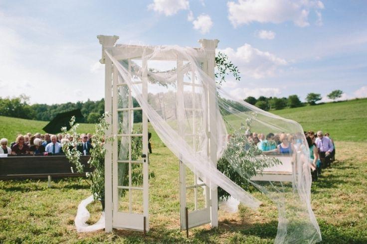 Trellis Outdoor Wedding Ceremonies: Doors, Shutters, & Windows Images On