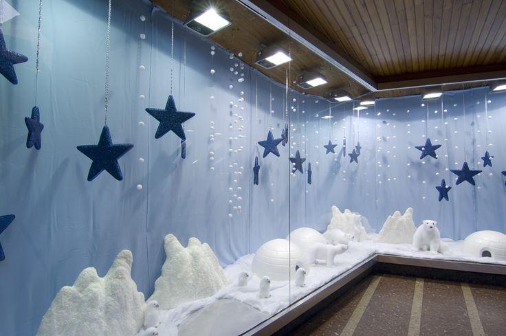 """Escaparate de la navidad del 2010 en el """"Polo Norte"""""""