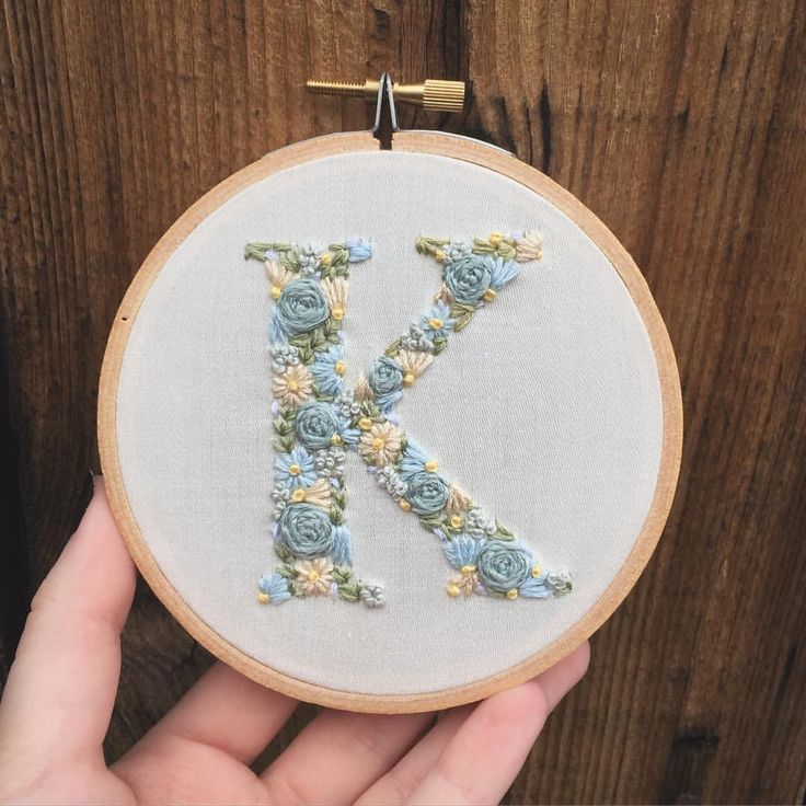 """moonrisewhims: """" My first floral letter in the new frosty blue palette! I've got 4 brand new palettes to choose from as well as 5 sizes & any letter or symbol your heart desires!  Shop link in profile  """""""