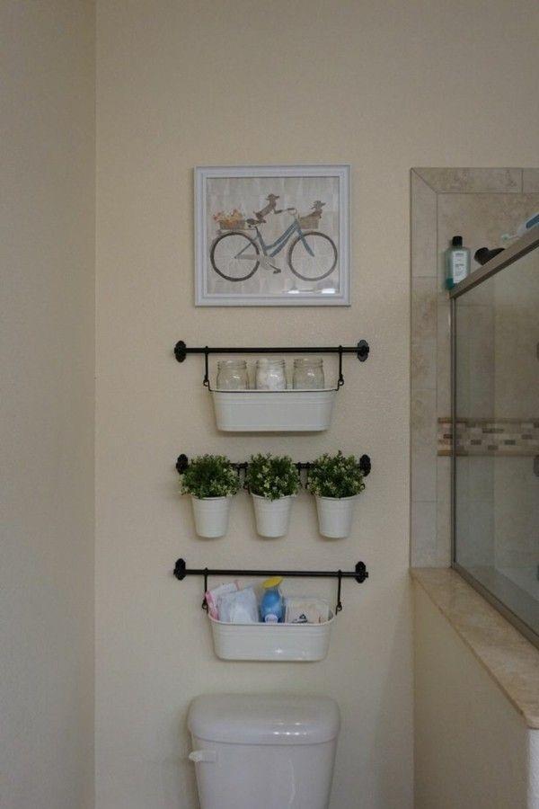 Badideen für kleine Bäder – so gewinnen Sie mehr Platz – Badezimmer Ideen – Fliesen, Leuchten, Möbel und Dekoration