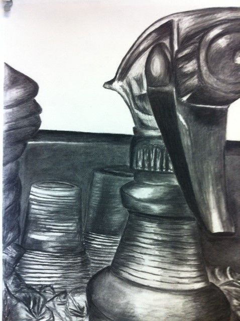 New Perspectives Charcoal Projects