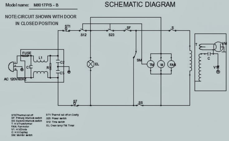 Pictures Microwave Oven Wiring Diagram Diagrams Schematics 9