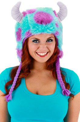 Monsters University Sulley Deluxe Hoodie Hat for Halloween - Pure Costumes