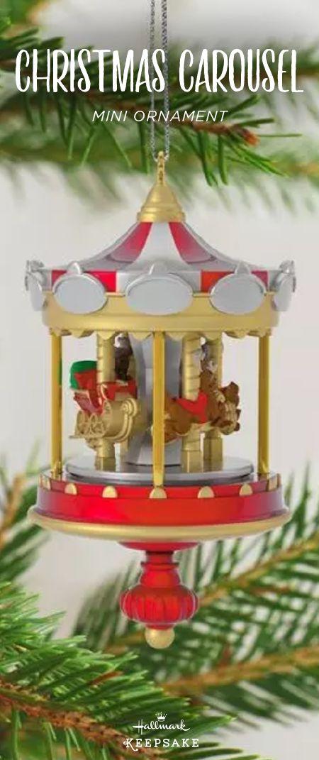 217 Best Keepsake Ornaments Images On Pinterest Keepsakes   Christmas  Carousel Decoration