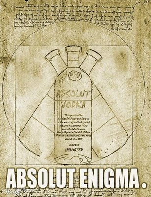 Absolut Vodka ENIGMA