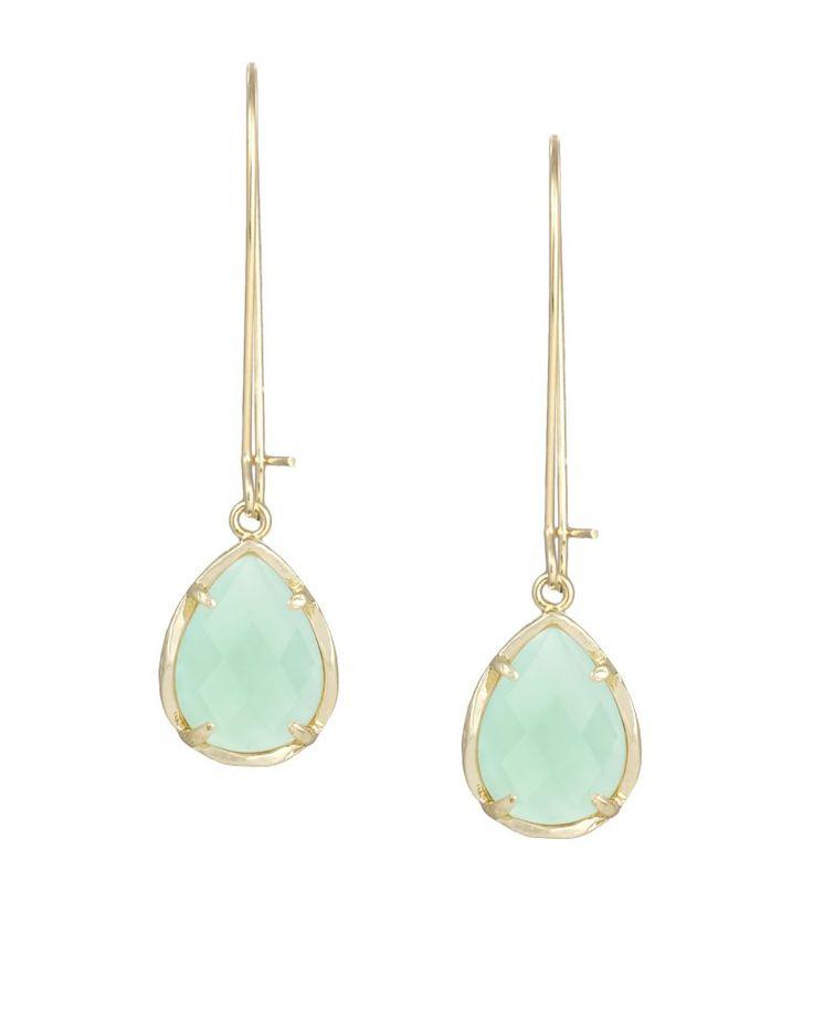 Dee Earrings in Chalcedony - Kendra Scott Jewelry.