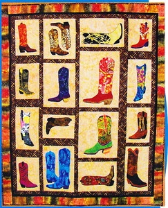 149 best Cowboy Quilts images on Pinterest   Cowboy quilt ... : cowboy boots quilt pattern - Adamdwight.com