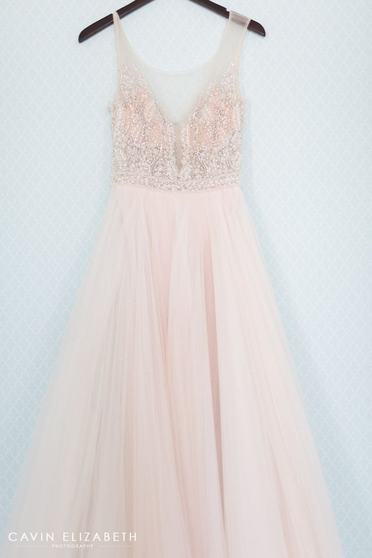 blush wedding dresses pink wedding dress Darlington House Wedding