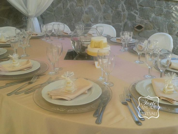 centro tavola wedding cake