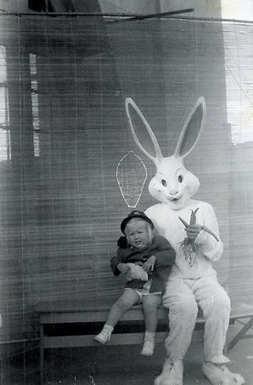 20 Funny Photo Of Children With Easter Bunny
