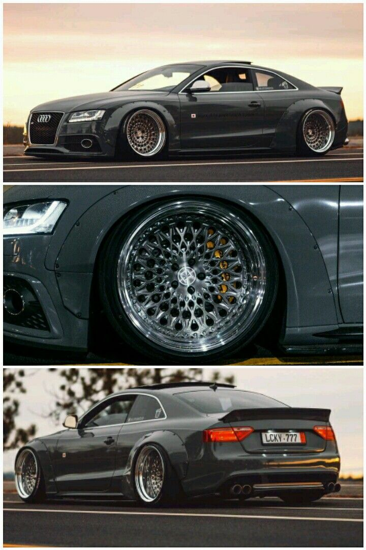 Audi S5 Coupe With Rocket Bunny Kit Perfect Interior