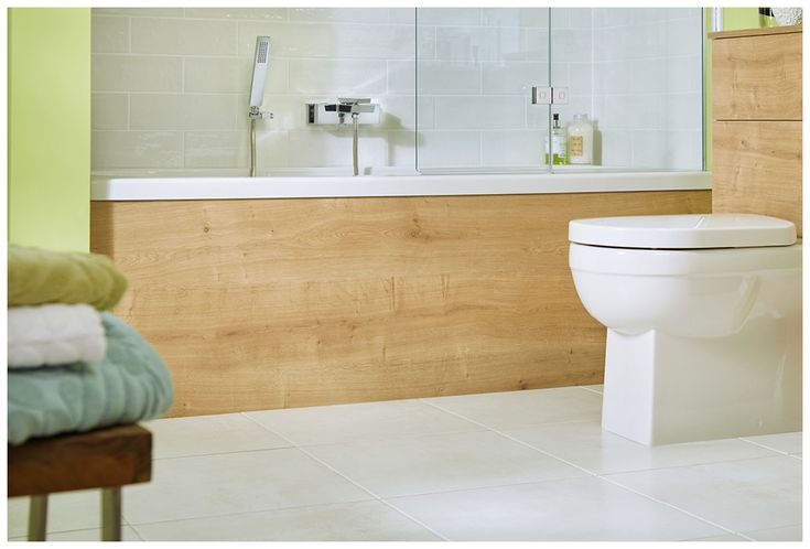Co-ordinating bath panels complete the look #bathroomfurniture