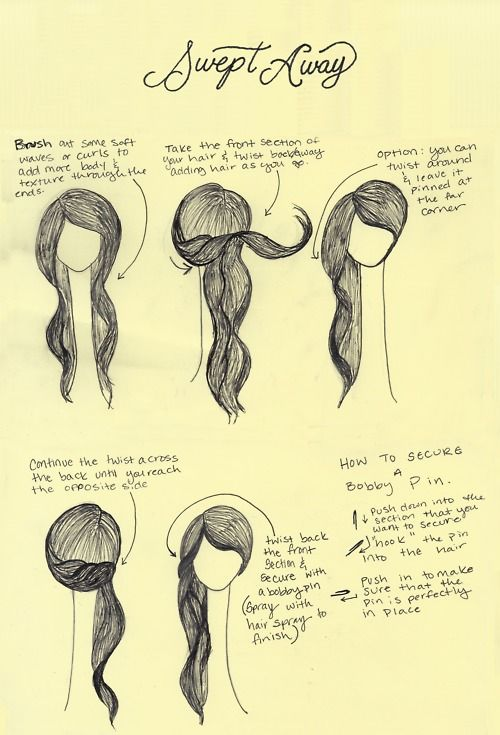 Very cute and easy to do! I did it and my hair is at my shoulders. I also have l