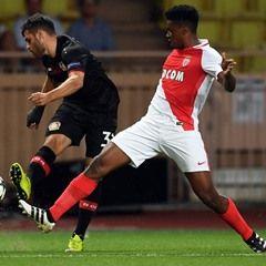 AS Monaco play Bayer Leverkusen in UEFA Champions League