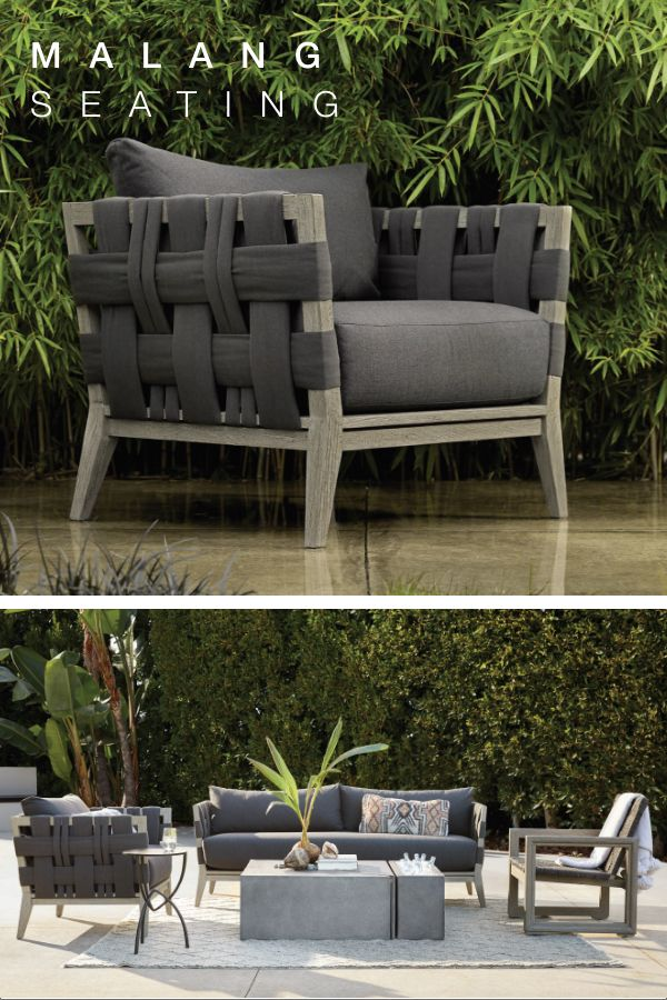 Malang Seating Arhaus Outdoor Patio Furniture Outdoor Furniture Sets Outdoor Sofa