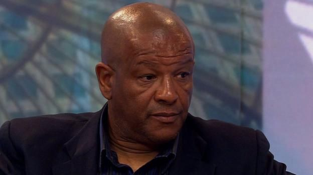 Former footballer Howard Gayle describes his experiences of racism as a player and tells the Victoria Derbyshire programme why he turned down an MBE.