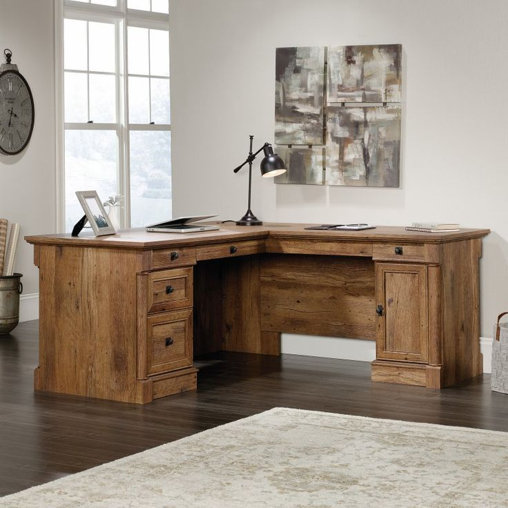 sauder palladia lshaped desk