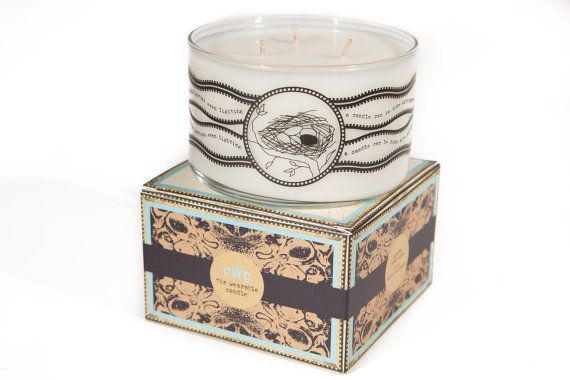 objects with purpose Lg. Francesca's Chai organic candle. SALE 50% off! Spicy & exotic. Awakens creativity!