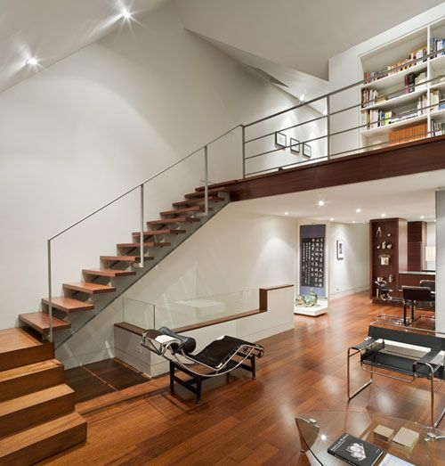 A condo in Toronto with an interior I'd like to steal (although with more art on the walls)