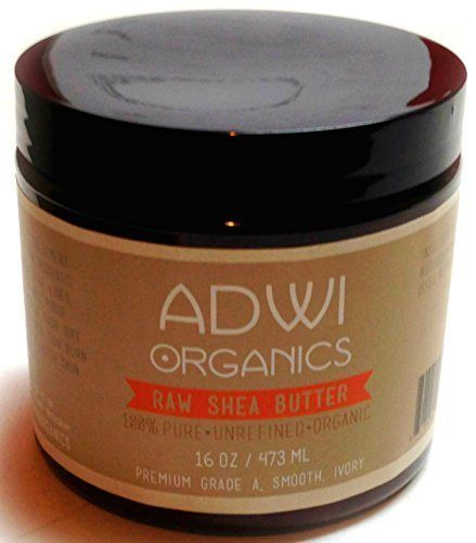 100% Unrefined Organic Raw Shea Butter - Best Pure Premium Grade A - Ivory - Rich in Vitamins A & E - For Natural Skin & Hair Care - Excellent for Use as a Daily Moisturizer - Essential Ingredient for Natural DIY Body Butters, Lotions, Soaps & Other Recipes - Amazing Benefits for Acne, Eczema, Psoriasis, Diaper Rash, Stretch Marks, Sunburn, Rashes - 100% Money Back Guarantee - 16 oz. - http://essential-organic.com/100-unrefined-organic-raw-shea-butter-best-pure-pr