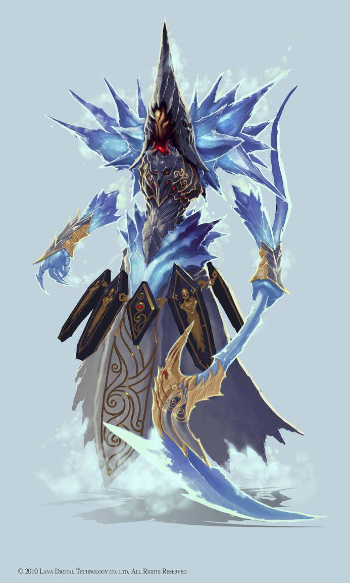 Fantasy Art Ice Lich