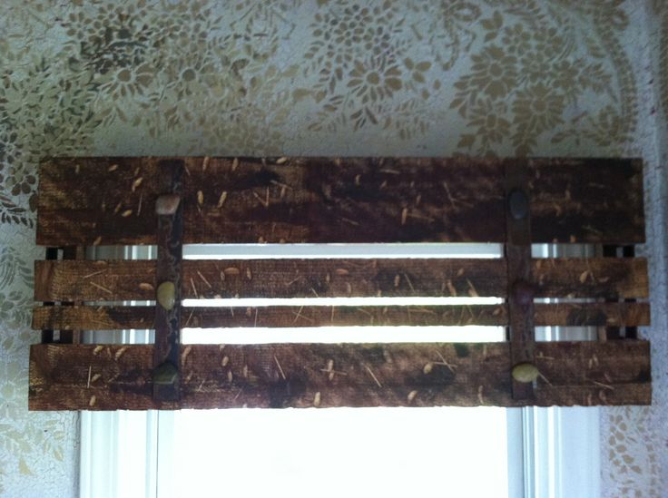 Wooden window valance | Ideas | Pinterest | Wood valance ... | 736 x 549 jpeg 61kB