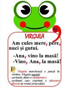 Semne de punctuație - Virgula