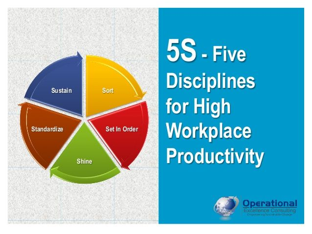 5S & Visual Management by Operational Excellence Consulting by OPERATIONAL EXCELLENCE CONSULTING via slideshare