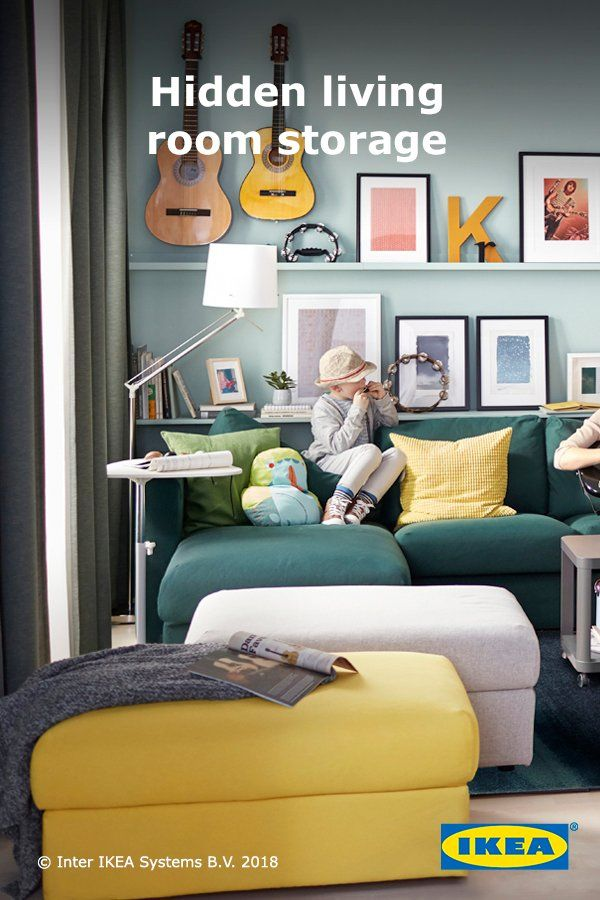 Ikea Us Furniture And Home Furnishings Ottoman In Living Room