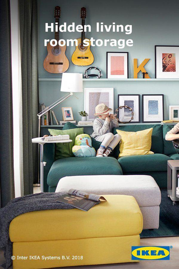 Ikea Us Furniture And Home Furnishings Ottoman In Living Room Ikea Living Room