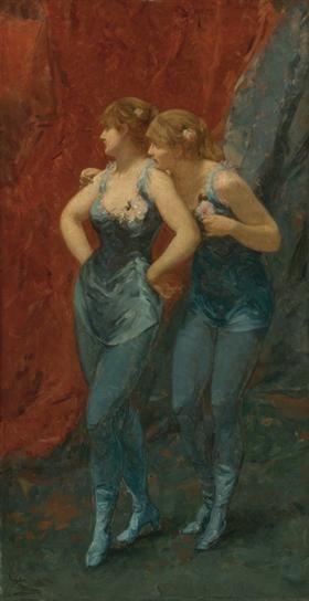 Two Dancers - Charles Hermans