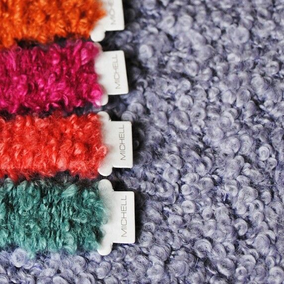 Michell alpaca yarns samples