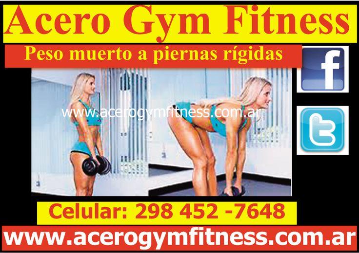 En Acero Gym te mostramos el mejor ejercicio para glúteos - http://acerogymfitness.com.ar/consejos-y-tips-de-un-tal-chris-personal-trainer/motivacion-gym-en-acero-gym-te-mostramos-el-mejor-ejercicio-para-gluteos-peso-muerto-a-piernas-rigidas/