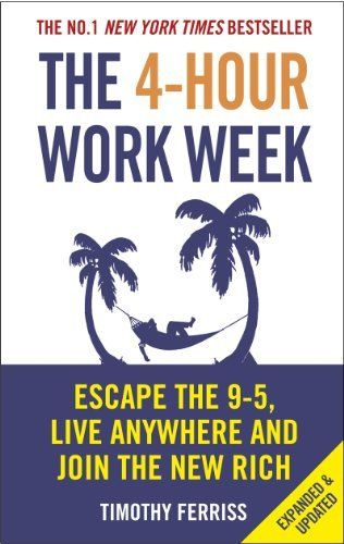 The 4-Hour Work Week: Escape the 9-5, Live Anywhere and Join the New Rich by Timothy Ferriss, http://www.amazon.com.au/dp/B006X0M2TS/ref=cm_sw_r_pi_dp_Bqqdwb133VM3B