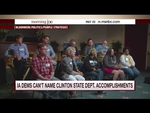 Iowa Dems Gush Over Hillary Clinton — but Tone Immediately Changes When Reporter Asks Them for One Accomplishment | Video | TheBlaze.com
