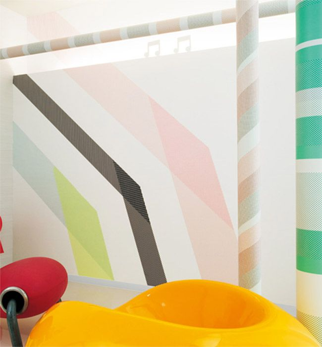 Wall patterns    Giant Wall Washi Tape by mt and Sincol, plus I love this blog about color, lots of artistic inspiration on here