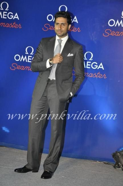 Abhishek Bachchan. What can I say about him. He is perfect for me :)