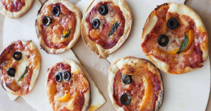 Zelf pizza's maken!
