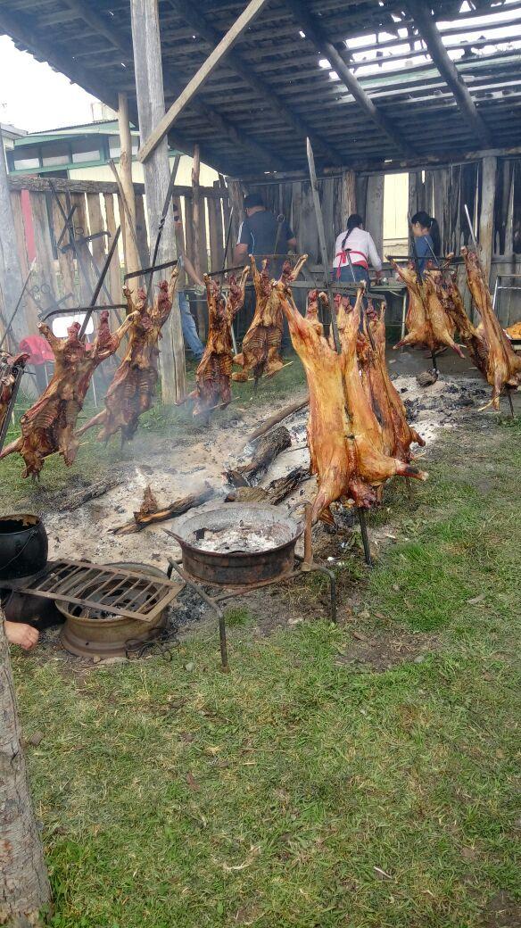 Cordero al Palo - Festival 4 Lagos - XI Region Aysen