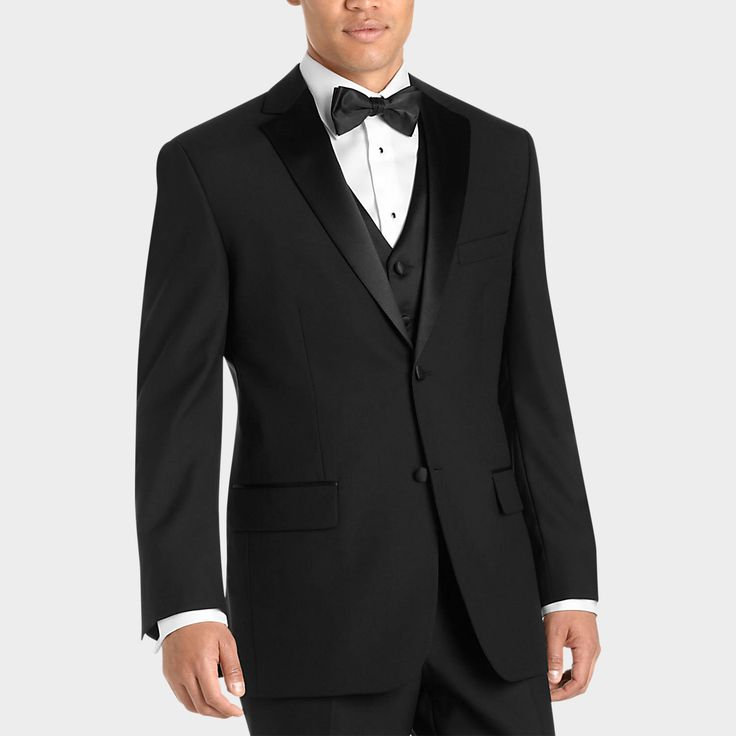 Wilke Rodriguez Black Modern Fit Tuxedo.